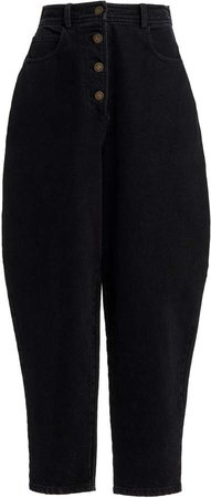 Zeynep Arcay High-Rise Tapered Jeans
