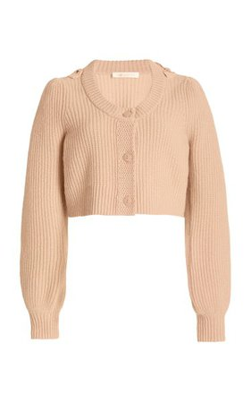 Branton Cropped Cashmere Cardigan By Loveshackfancy | Moda Operandi