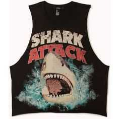 shark attack shirt