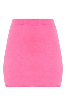 Pink Mini Skirt | Skirts | PrettyLittleThing USA