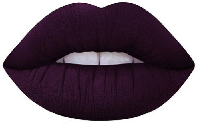 Dark Purple Lips
