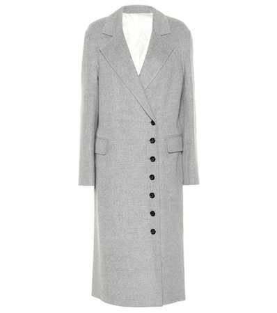 New Signe wool and cashmere coat