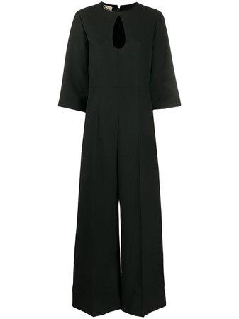 Gucci Keyhole Jumpsuit - Farfetch