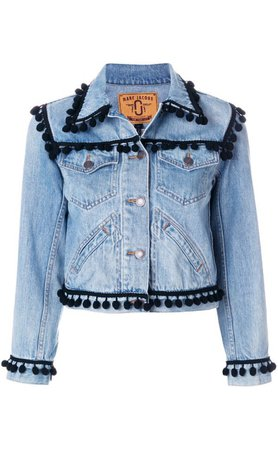 marc jacobs pom denim jacket