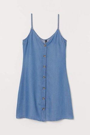 Lyocell Dress - Blue
