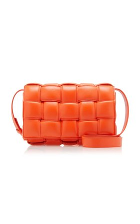 Cassette Padded Intrecciato Leather Shoulder Bag by Bottega Veneta   Moda Operandi
