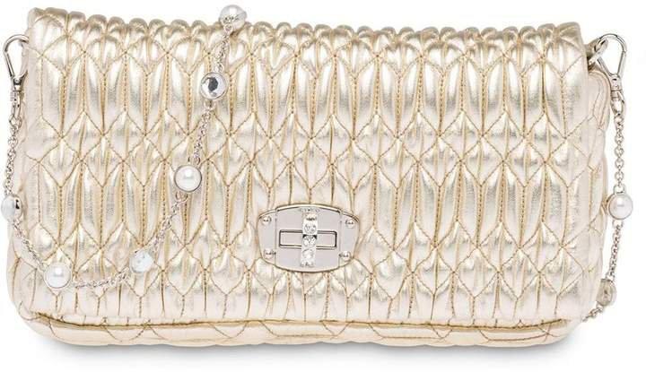 Miu Crystal shoulder bag