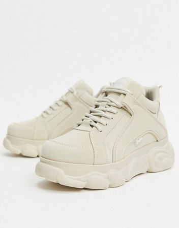 Buffalo Corin Sneaker in Cream | ASOS