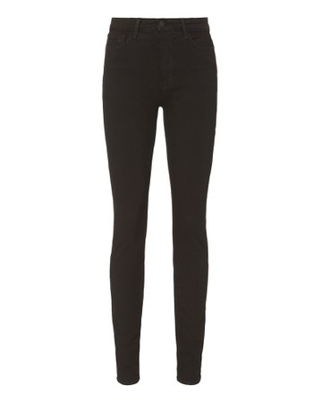 L'Agence | Marguerite High-Rise Skinny Jeans | INTERMIX®