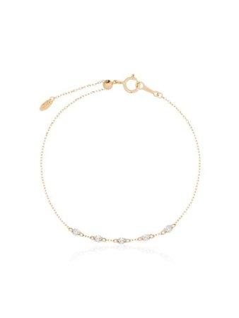 Persée Bracelet Danae En Or Jaune 18ct Orné De Diamants - Farfetch