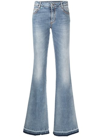 Ermanno Scervino, low-rise flared jeans