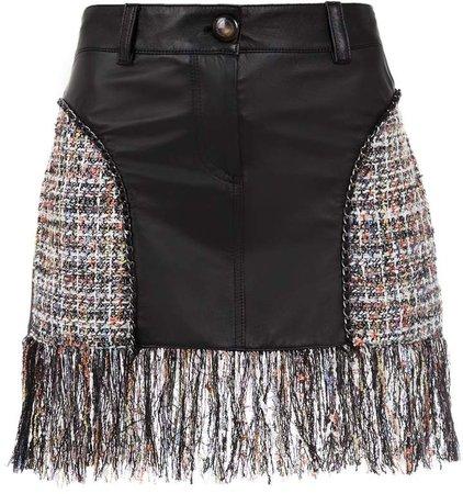 Andrea Bogosian skirt with fringes