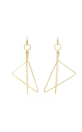 Gabby 18k Gold Diamond Earrings By Octavia Elizabeth | Moda Operandi