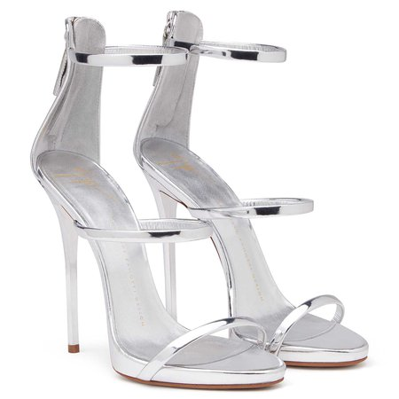 Harmony - Sandals - Silver | Giuseppe Zanotti - US