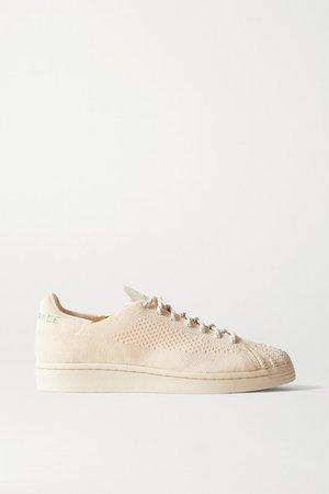 Pharrell Williams Superstar Primeknit Sneakers - Ecru