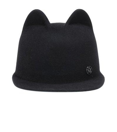 Jamie rabbit-felt hat
