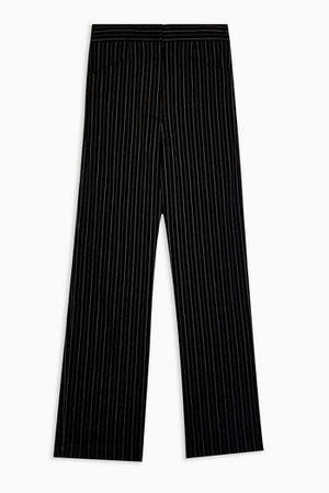 Black Stretch Trousers | Topshop