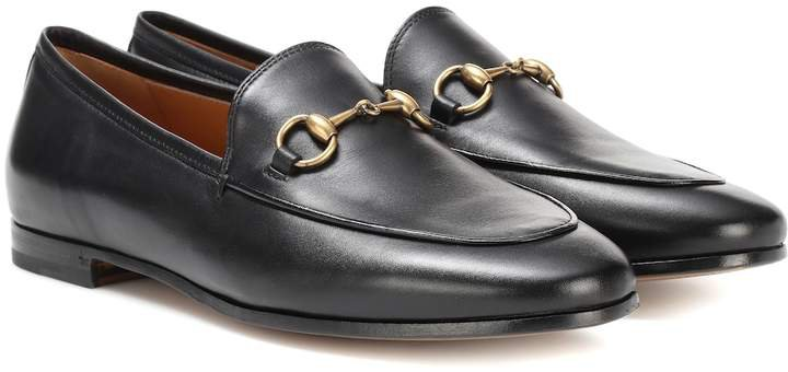 gucci 'Jordaan' leather loafer