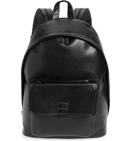 Béis The 2-in-1 Faux Leather Backpack | Nordstrom