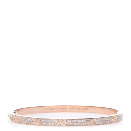 Rose gold Cartier bracelet