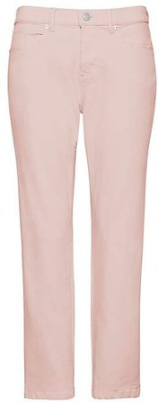 Petite Girlfriend Pink Wash Cropped Jean