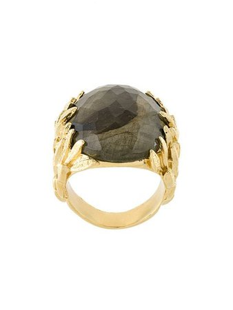Wouters & Hendrix My Favourite labradorite ring