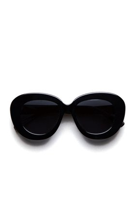 PHILÓ Astrid Round-Frame Sunglasses