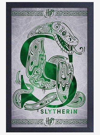 Harry Potter Slytherin Poster