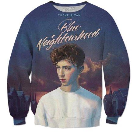 Blue Neighborhood - Troye Sivan Sweatshirt