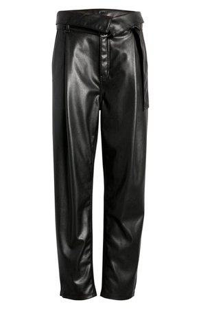 Faux Leather Trousers   Nordstrom