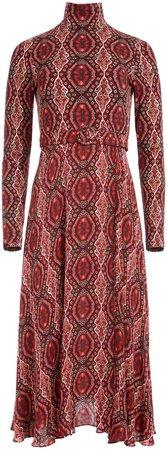 Clare Turtleneck Midi Dress