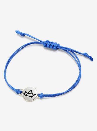 Sagittarius Cord Bracelet