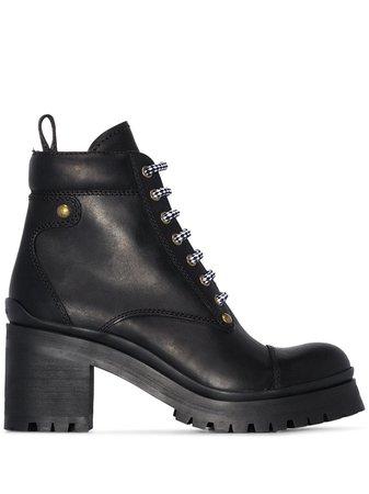 Miu Miu hiking 80mm boots