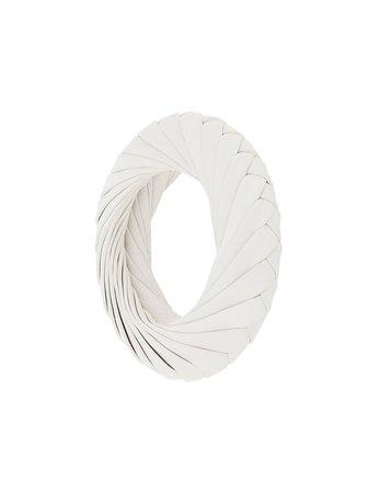 Bottega Veneta Intrecciato Leather Bracelet - Farfetch