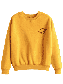 Yellow Sweatshirt