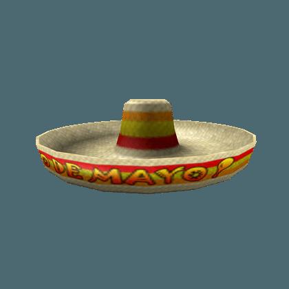 Cinco De Mayo Sombrero - Roblox