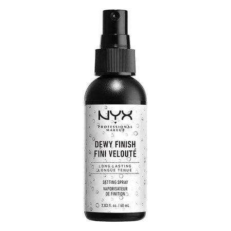 Amazon.com : NYX PROFESSIONAL MAKEUP Makeup Setting Spray - Dewy Finish, Long-Lasting Vegan Formula : Foundation Makeup : Beauty & Personal Care