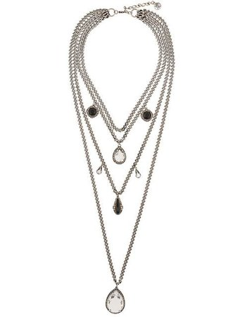 Alexander McQueen Layered Necklace - Farfetch