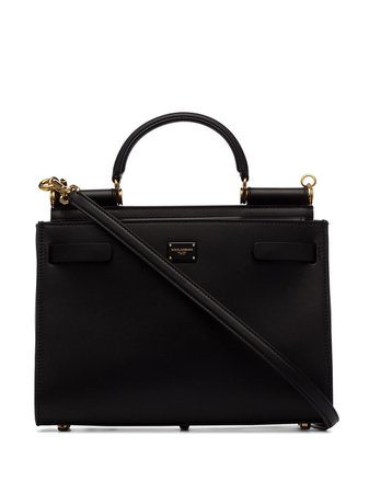 Dolce & Gabbana 62 Small Leather Tote Bag Ss20 | Farfetch.com