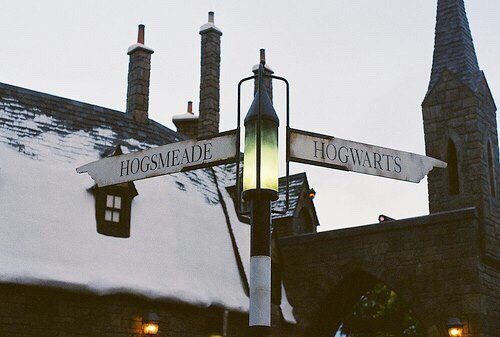 Hogsmeade Hogwarts Sign | Harry Potter