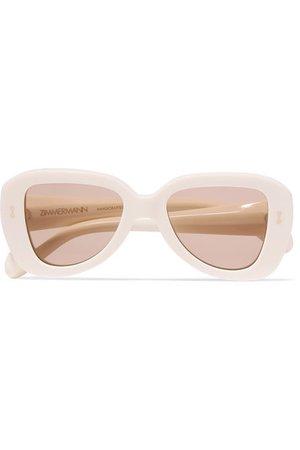 Zimmermann | Juno D-frame acetate sunglasses | NET-A-PORTER.COM