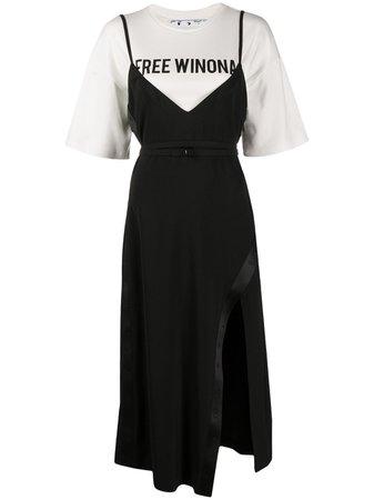 Off-White Free Winona Layered Dress - Farfetch