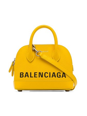 Balenciaga canary yellow Ville XXS leather cross body bag £1,140 - Buy Online - Mobile Friendly, Fast Delivery