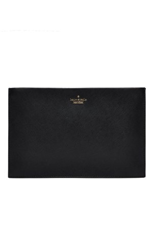 Black Cameron Street Sima Clutch by kate spade new york accessories for $40 | Rent the Runway