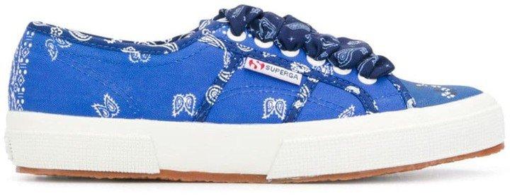 x Superga paisley bandana print sneakers