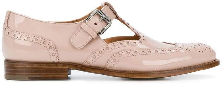 classic buckled brogues