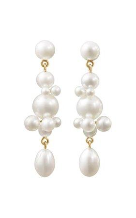 Petite Perle Splash Earrings By Sophie Bille Brahe | Moda Operandi