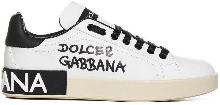 Logo Print Low-Top Sneakers