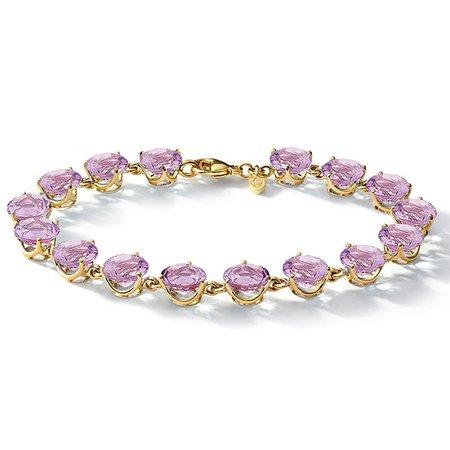 Riviere Amethyst Bracelet - Cassandra Goad
