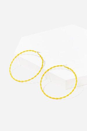 Oversized Twisted Hoop Earrings | Forever 21